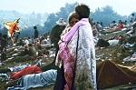 foto van Woodstock festivalterrein